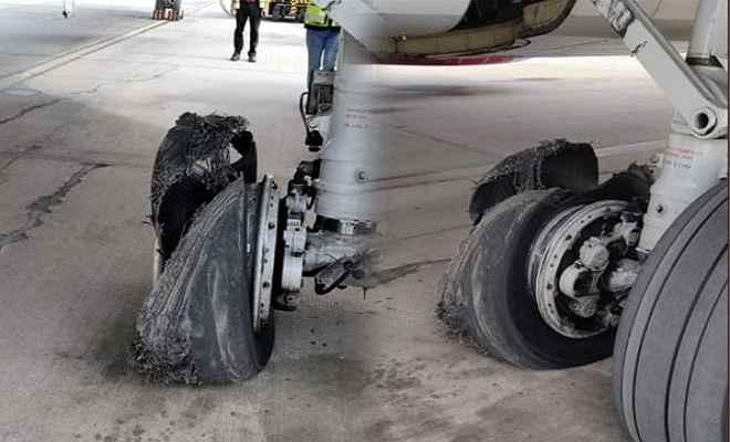 स्पाइस जेट के विमान की जयपुर में इमरजेंसी लैडिंग, विमान में 189 यात्री थे सवार
