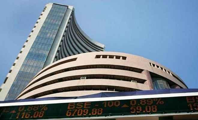 शेयर बाजार: बैंक शेयरों की गिरावट से सेंसेक्स 178 अंक फिसला, निफ़्टी भी लाल निशान पर