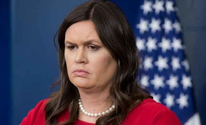 राष्ट्रपति ट्रम्प ने ट्वीट कर कहा- सारा सैंडर्स 30 जून को व्हाइट हाउस को कहेंगी अलविदा