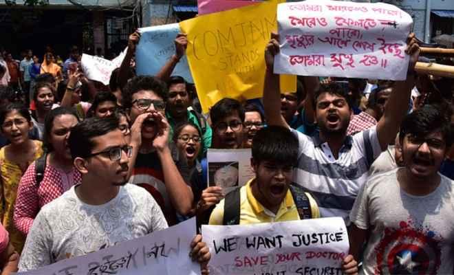 प. बंगाल में सामान्य नहीं हुई स्वास्थ्य सेवा, जूनियर डॉक्टर अपने रुख पर अडिग