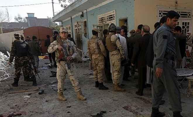 अफगानिस्तान में आत्मघाती हमला, 11 लोगों की मौत, 13 घायल