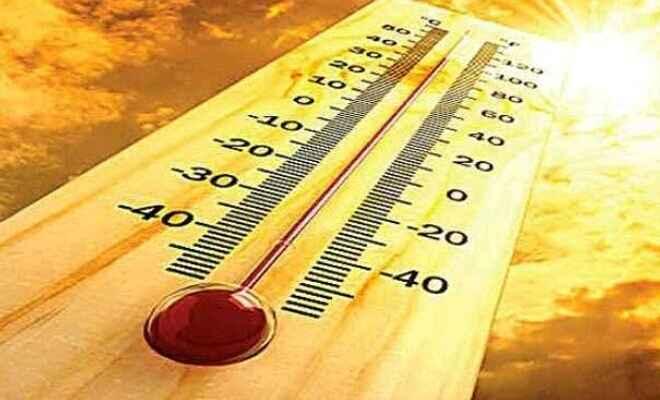 कुशीनगर का चढा़ पारा 43 डिग्री, गर्मी की मार जारी