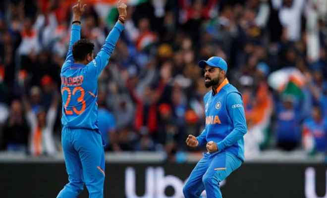 आईसीसी विश्वकप 2019: भारत ने पाकिस्तान को 89 रन से दी करारी शिकस्त