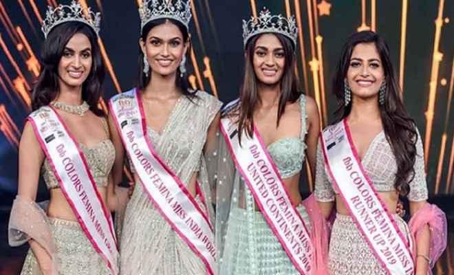 राजस्थान की सुमन राव के सिर पर सजा फेमिना मिस इंडिया 2019 का ताज