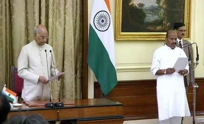 राष्ट्रपति रामनाथ कोविंद ने डॉ. वीरेंद्र कुमार को दिलाई प्रोटेम स्पीकर पद की शपथ