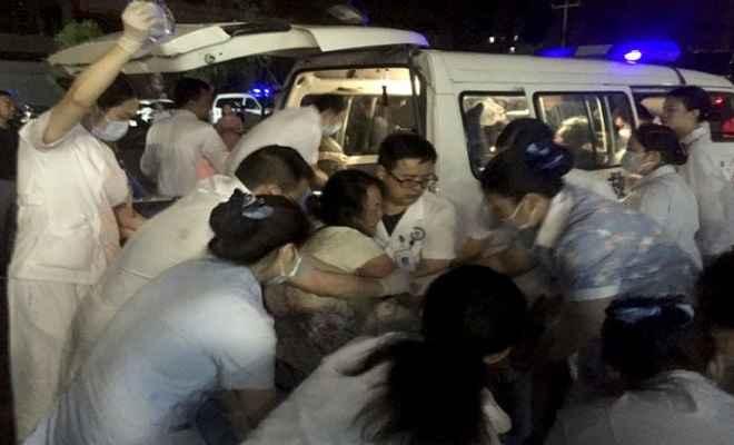 चीन के सिचुआन प्रांत में भूकंप के झटके, 11 लोगों की मौत, कई घायल