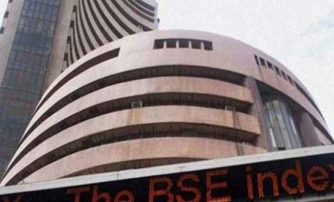 शेयर बाजार: गिरावट से उबरा बाजार, सेंसेक्स में 125 अंकों की बढ़त