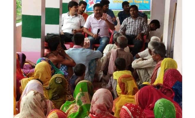 किसानों के लिए जागरुकता चौपाल का आयोजन, मिट्टी जांच, जैविक खाद व श्रीविधि से खेती का सुझाव
