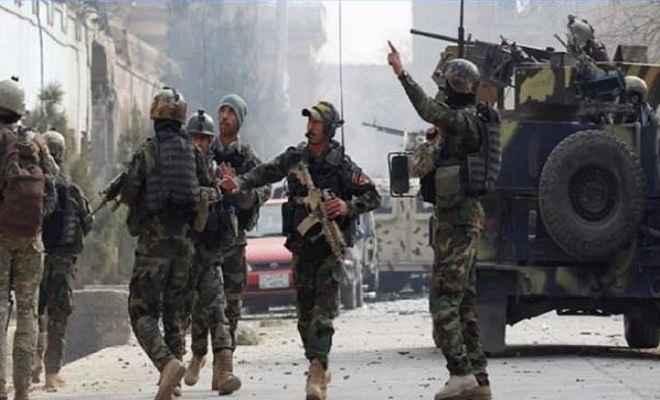 अफगानिस्तान: गोलीबारी में 12 आतंकी ढेर, दो सुरक्षाकर्मियों की मौत