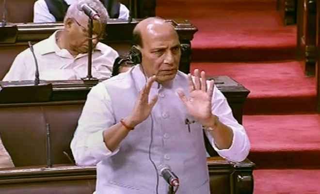रक्षा मंत्री राजनाथ सिंह ने संसद को बताया, 2019 की स्थिति के अनुसार सेना में कुल 45,634 पद रिक्त