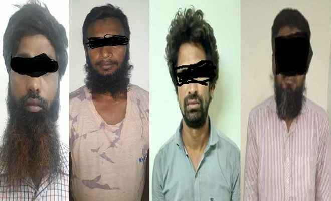 पश्चिम बंगालः एसटीएफ ने इस्लामिक स्टेट के चार संदिग्ध आतंकियों को किया गिरफ्तार