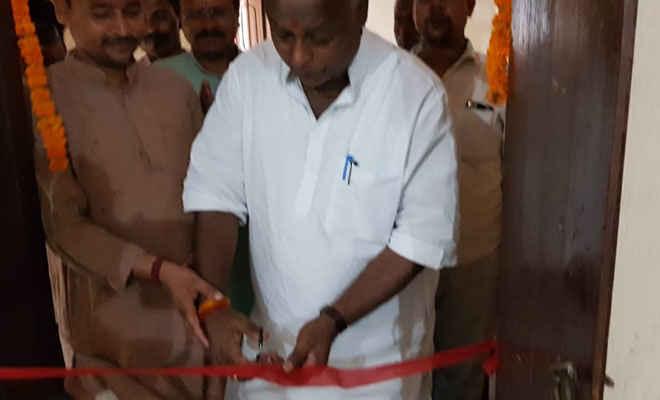 जीवधारा पंचायत भवन में मंत्री प्रमोद कुमार ने किया आरटीपीएस का उद्घाटन