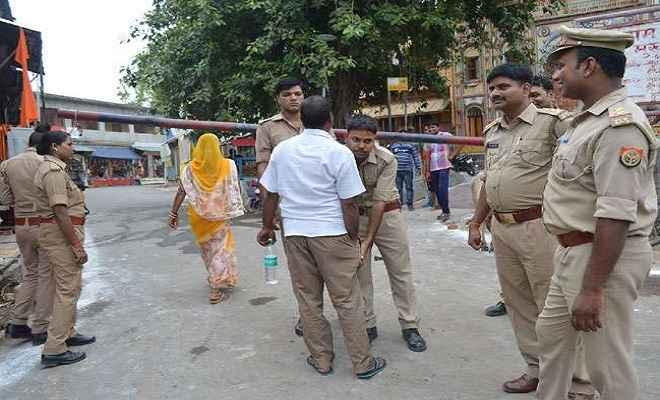 राम जन्मभूमि आतंकी हमले की बरसी पर अयोध्या में सुरक्षा के पुख्ता इंतजाम