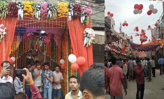 हौज काजी मंदिर में आज भव्य शोभा यात्रा के साथ होगी मूर्ति स्थापना, इलाके में सुरक्षा-व्यवस्था चाक-चौबंद
