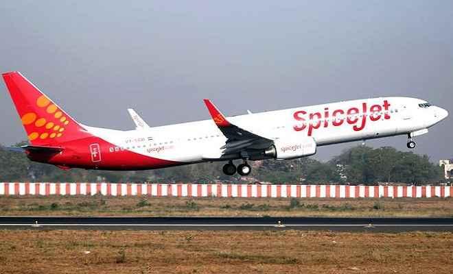विमान के लैंडिंग गियर के दरवाजे में फंसने से स्पाइसजेट तकनीशियन की मौत