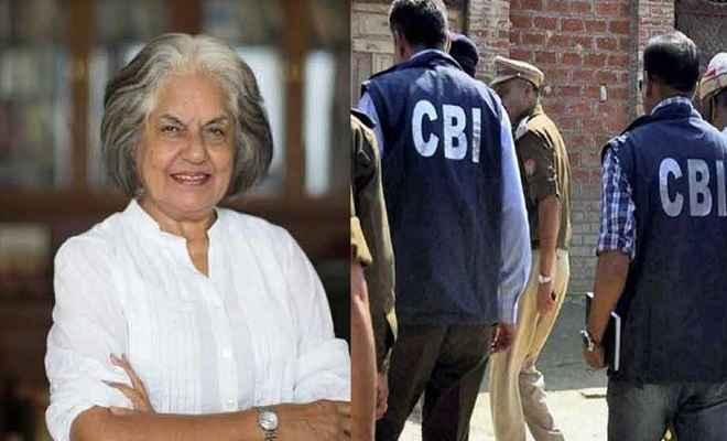 विदेश फंडिंग मामला: सुप्रीम कोर्ट की वरिष्ठ वकील इंदिरा जयसिंह के घर सीबीआई का छापा