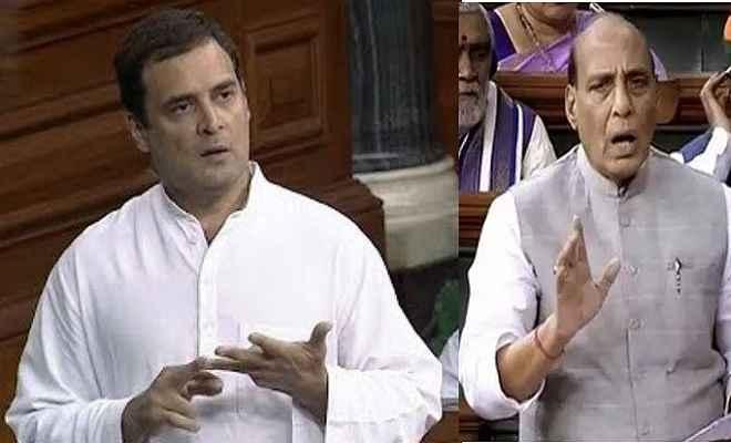 लोकसभा: राहुल ने किसानों की स्थिति को बताया दयनीय, राजनाथ बोले- लंबे समय तक सरकार चलाने वाले जिम्मेदार