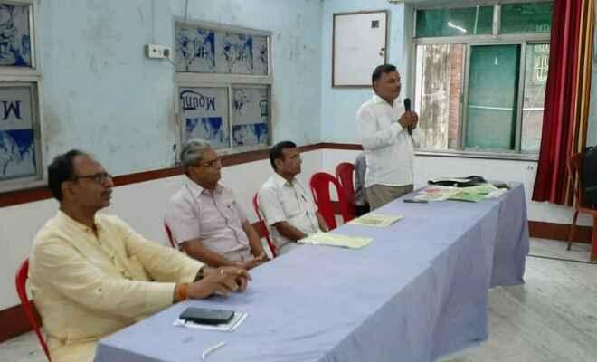 भारत विकास परिषद के रक्सौल शाखा की स्थापना सह नयी कार्यकारिणी का हुआ गठन