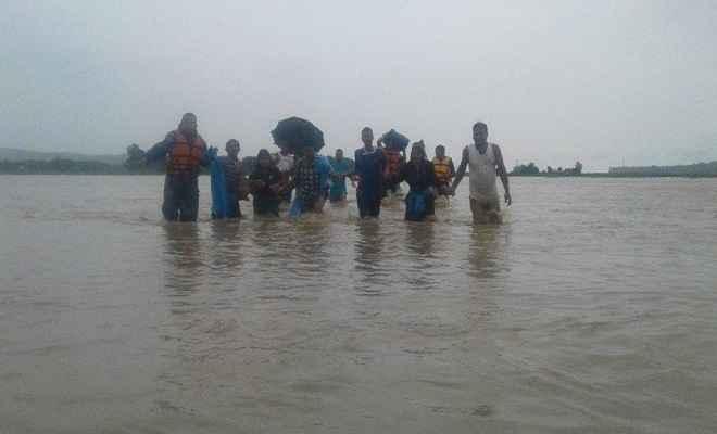 नेपाल मे बाढ़ का कहर, अब तक 65 लोगों की मौत, 38 घायल