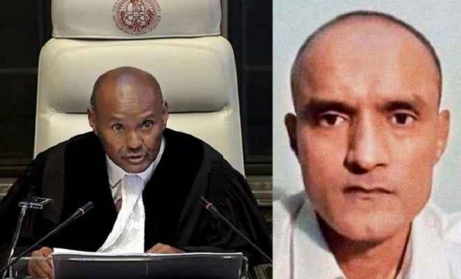 आईसीजे ने कुलभूषण जाधव की फांसी पर लगाई रोक, पाकिस्तान को सजा की समीक्षा करने का आदेश