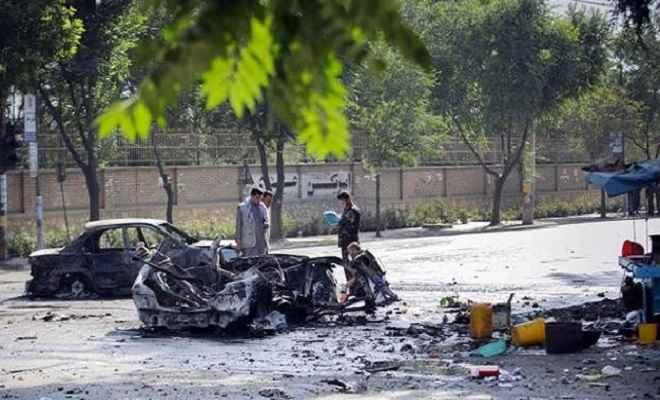 काबुल विश्वविद्यालय के पास भीषण धमाका, चार की मौत, 16 घायल