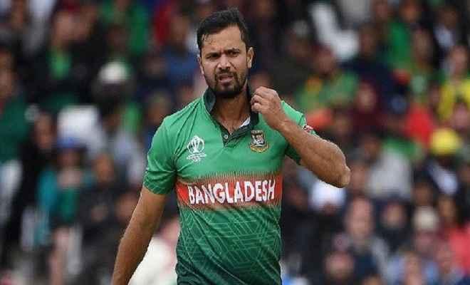 चोटिल मुर्तजा श्रीलंका के खिलाफ एकदिनी श्रृंखला से बाहर, तमीम इकबाल टीम का संभालेंगे कमान