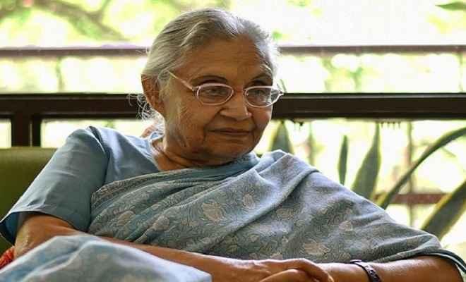 दिल्ली की पूर्व सीएम शीला दीक्षित का निधन, कई दिनों से थीं बीमार