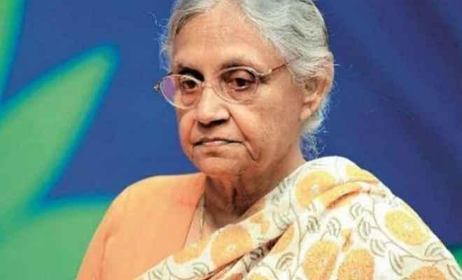 शीला दीक्षित के निधन पर राष्ट्रपति, उप राष्ट्रपति, प्रधानमंत्री सहित अन्य नेताओं ने जताया शोक