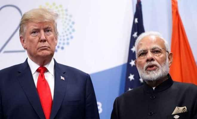 भारत ने डोनाल्ड ट्रम्प के दावे को किया खारिज, कहा- पीएम मोदी ने कश्मीर पर मध्यस्थता के लिए कभी नहीं मांगी मदद