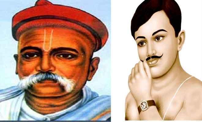 उपराष्ट्रपति एम. वेंकैया नायडू और प्रधानमंत्री  मोदी ने स्वतंत्रता सेनानी तिलक और आजाद को किया याद