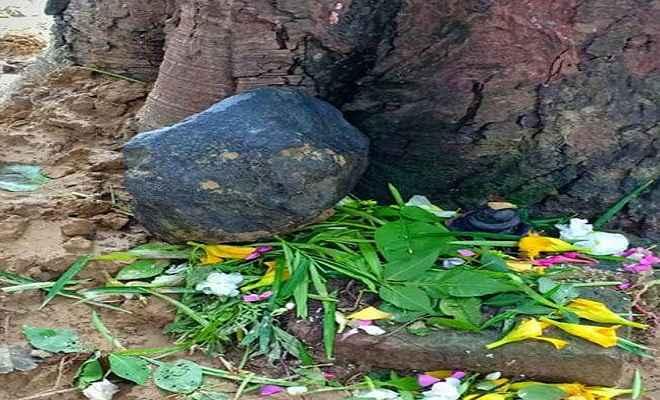 मधुबनी में आसमान से गिरा 15 किलो का विचित्र पत्थर, मुख्यमंत्री ने लिया बड़ा निर्णय