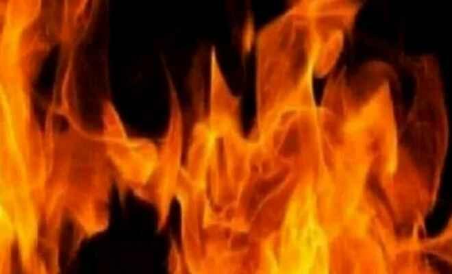 कुशीनगर में आग लगने से 35 बाईक जली