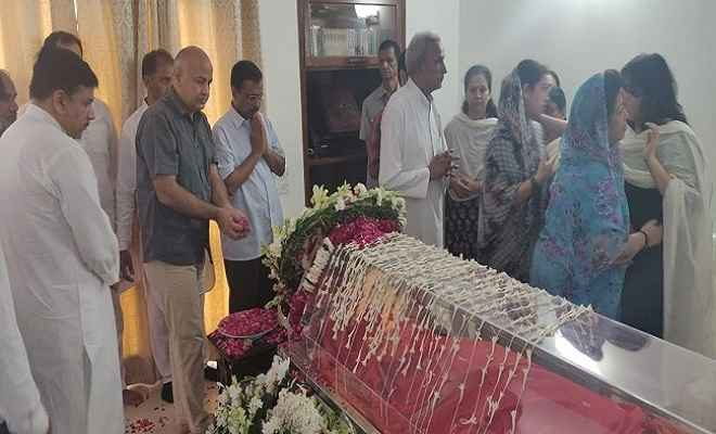 दिल्ली की पहली महिला मुख्यमंत्री बनी थीं सुषमा स्वराज, निधन पर दो दिन का राजकीय शोक