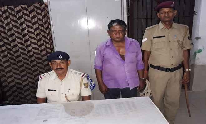 रक्सौल-रेलवे पुलिस ने शराबी को भेजा जेल, शराबी पीकर मचा रहा था उत्पात