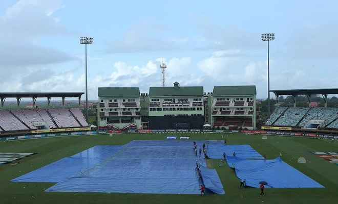 भारत बनाम वेस्टइंडीज पहला एकदिनी: वेस्टइंडीज ने गंवाया एक विकेट, बारिश ने दूसरी बार रोका खेल
