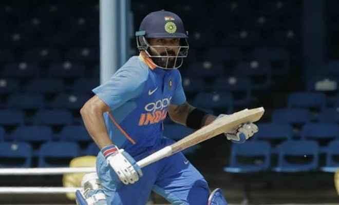 विराट कोहली की सेंचुरी, भारत ने दूसरे वन-डे में वेस्टइंडीज को 59 रन से हराया