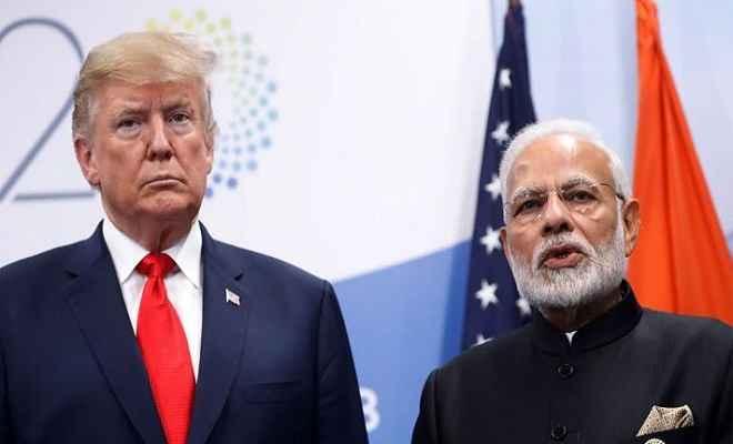 कश्मीर को अमेरिका ने बताया द्विपक्षीय मसला, मध्यस्थता से अब ट्रंप का इनकार