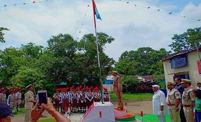 73वां स्वतंत्रता दिवस: बगहा स्थित एसपी कार्यालय, बिहार पुलिस बलों के कार्यालय परिसर में हर्षोल्लास पूर्वक मनाया गया