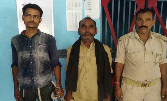घोड़ासहन में डबल मर्डर अंजाम के बाद मोतिहारी में लिया था शेल्टर पुलिस ने पिस्टल के साथ पकड़ा