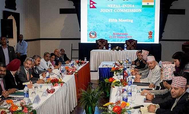 नेपाल-भारत की पांचवें राउंड की संयुक्त आयोग की बैठक संपन्न, विदेश मंत्री जयशंकर के साथ इन मुद्दों पर हुई चर्चा