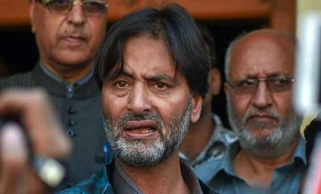 पूर्व मुख्यमंत्री की बेटी के अपहरण और 5 सैनिकों की हत्या मामले में यासीन मलिक को टाडा कोर्ट में पेश होने का आदेश