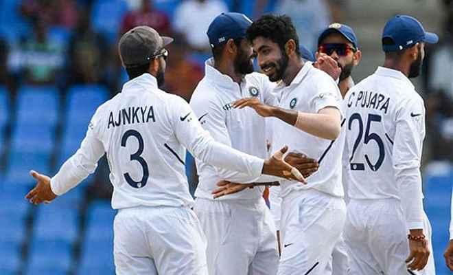 विदेशी धरती पर भारत ने हासिल की टेस्ट मैच में सबसे बड़ी जीत, वेस्टइंडीज को 318 रनों से रौंदा