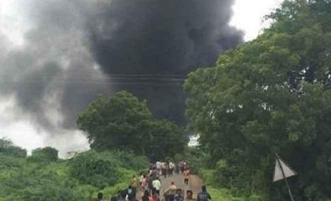 महाराष्ट्र: धुलिया की केमिकल फैक्टरी में भीषण धमाका, आठ की मौत, 43 घायल