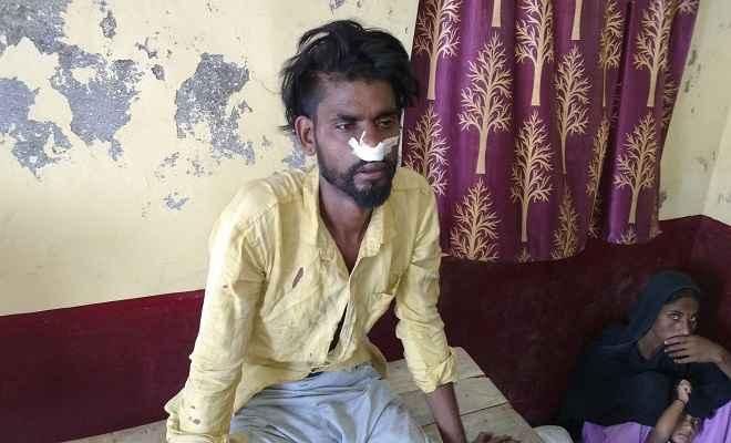 ग्रामीणों ने  चोर को पकड़ कर पुलिस के हवाले किया, इससे पूर्व भी जा चुका है जेल