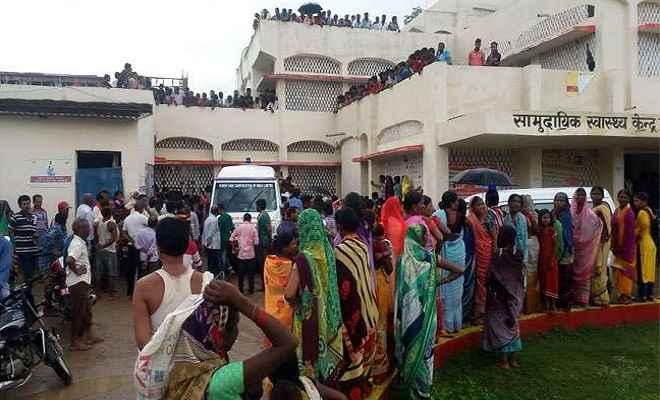 गढ़वा में वज्रपात से आठ लोगों की मौत, दो घायल, गांव में मचा कोहराम