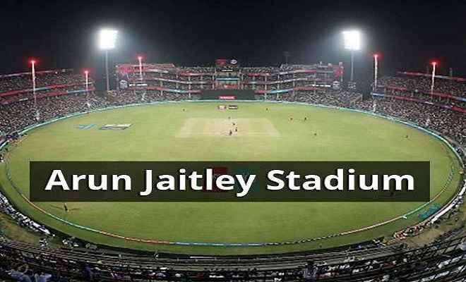 राजधानी दिल्ली का फिरोजशाह कोटला स्टेडियम का नाम पड़ा अरुण जेटली स्टेडियम