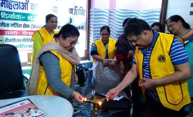 मोतिहारी में गर्भवती महिलाओं का मुफ्त स्वास्थ्य परीक्षण शिविर का आयोजन