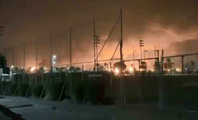 सऊदी तेल कम्पनी अरामको पर हमले से तेल उत्पादन 50 फीसद ठप, बढ़ेंगे दाम