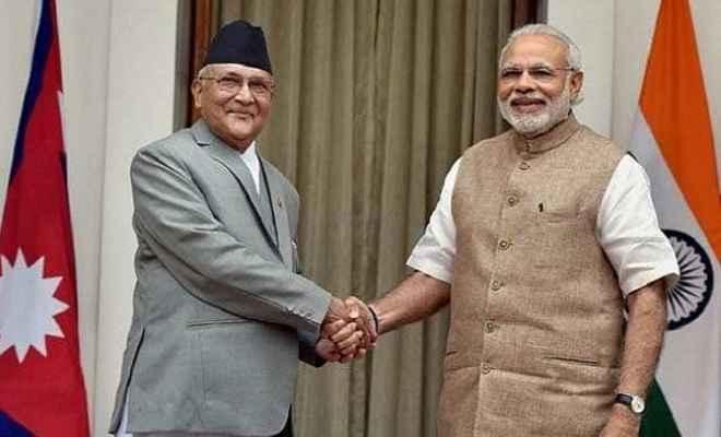 नेपाल के प्रधानमंत्री केपी ओली ने पीएम मोदी को दी जन्मदिन की बधाई