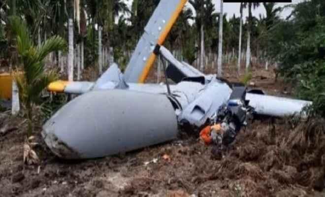 ट्रायल के दौरान क्रैश हुआ डीआरडीओ का रुस्तम-2, कोई हताहत नहीं